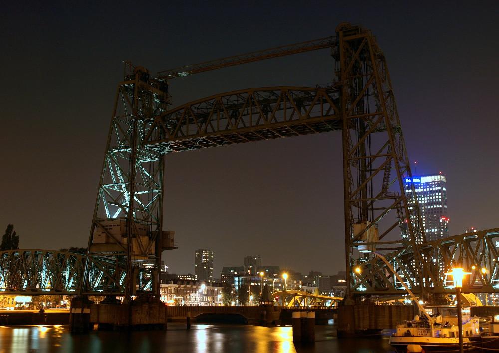 Koningshavenbrug in Rotterdam
